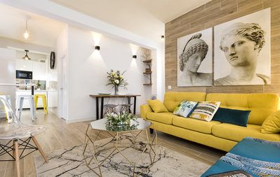 Photo for Modern and exclusive apartment located in the historic heart of Seville. Pajaritos