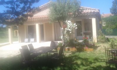 Photo for 3BR House Vacation Rental in SAINT HILAIRE DE BRETHMAS (30), Occitanie