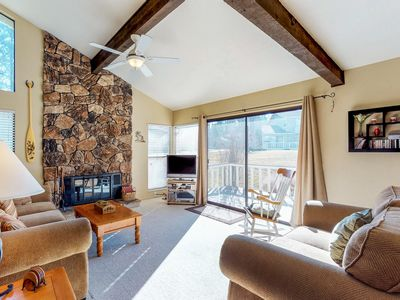 Photo for Family-friendly Graeagle home w/ on-site golf - hiking, biking, lakes nearby!