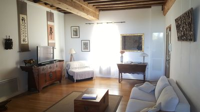 Photo for Luxury first floor 4* apartment close to amenities in noted wine village