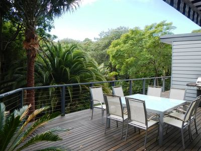 Photo for Modern house with tropical feel in the heart of the Northern Beaches