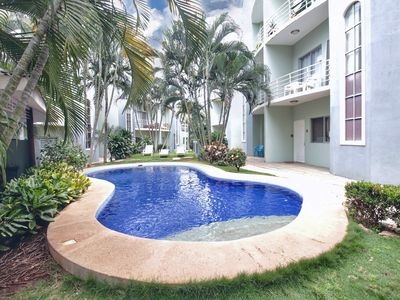 Photo for NEW! Just remodeled 2BR condo with pool,  5 min walk  to Tamarindo Beach
