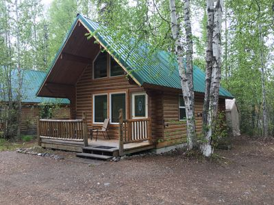 Photo for Talkeetna Log Cabin - Conveniently Located