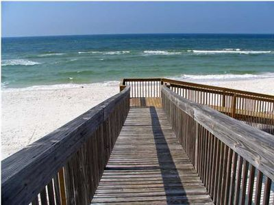 Easy access to the beach