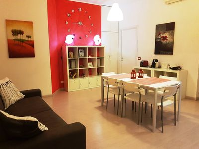 Photo for Rome St.Peter/Vatican: apartment with wonderful terrace! Free Wifi