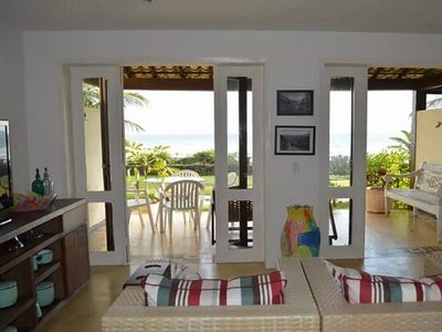 Photo for HOUSE OF FRONT BEACH GERIBA - CONDOMINIUM OF LUXURY, FOOT IN THE SAND.