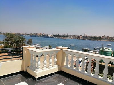 Photo for Nile Jewel Suites Fully Serviced Luxury Nile view Apartment. With 2 bedrooms