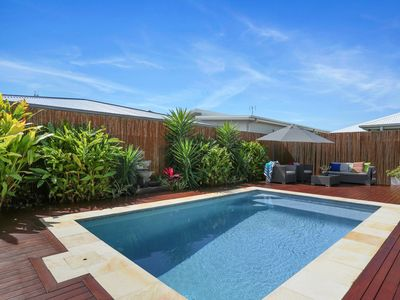 Photo for Modern 3 Bedroom Home with a pool close to beach