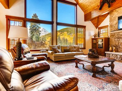 Photo for Blue River Beauty Featuring Stunning Views of Quandary Peak, Hot Tub & More!