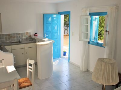 Photo for Apaptment for 2-3 persons, with garden, 50 meters from the beach