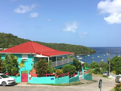 Photo for Magnificent panoramic view of Grand Anse Bay