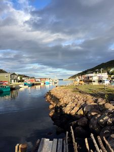 Petty Harbour view from the Island Rooms area.