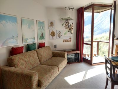 Photo for Home directly ON SLOPES, 200 meters from center village!