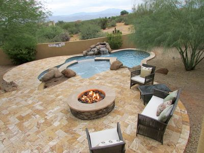 Gorgeous 4BR Scottsdale Desert Home w/ Pool Heater & Spa, Mtn Views