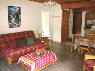 Photo for Cauterets appart 2 bedrooms 60m2 South Balcony 50 meters Gondolas and Thermal Baths