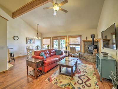 Photo for NEW! Condo w/Deck & BBQ 4mi to Dwtn Pagosa Springs