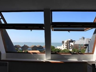 Photo for Very nice apartment 32m², 20m La Rochelle Beach, Sea View