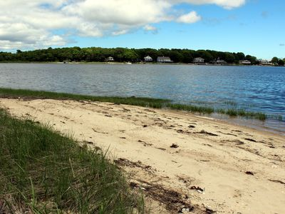 Photo for Water View Home with Private Beach in Marion!