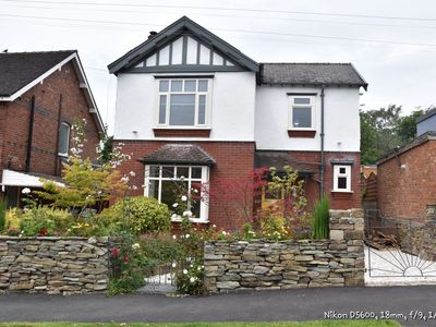 Photo for Glenholme Is a beautiful 1940s detached house at the foot of the Peak District