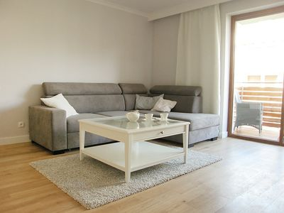 Photo for Apartment in the center of Ustka with Internet, Lift, Parking, Balcony (513706)