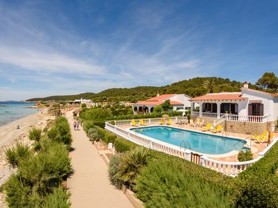 Photo for Luxury villa with private pool and sea views peaceful Location from the beach