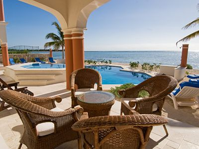 Photo for ~Mexican Style Villa On Beach in Gated Community ~ with Free Chef Service