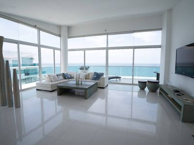 Photo for Beachfront Luxe Penthouse-Top of the Top! by NOMAD GURU