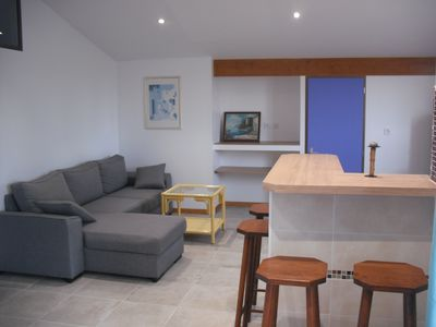 "Photo for Discover the ""palm in Ares"" superb apartment."