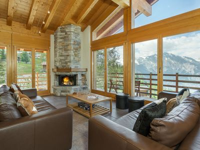 Photo for Chalet Kudu - up to 12 people - jacuzzi & sauna - 15% skipass discount