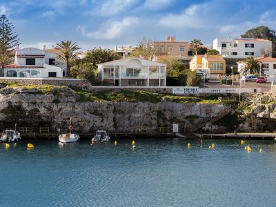 Photo for Villa in the picturesque fishing port Cales Fonts