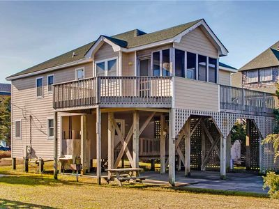 Photo for Short Walk to Beach! Oceanside, Avon w/ Hot Tub, Game Room, Dog-Friendly & More