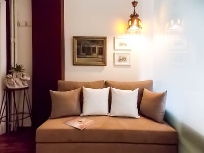 Photo for Cozy studio apartment up to 2 persons, pedestrian zone- in the heart of Athens