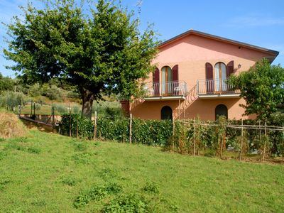 Photo for 2+2 Apt by the Trasimeno Lake. Good value for money and free use of public pool.