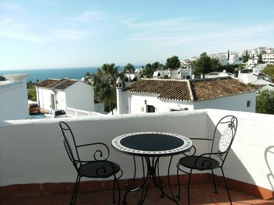 Photo for A Delightful 2 Bedroom South Facing Apartment With Large 24 Sq M Terrace