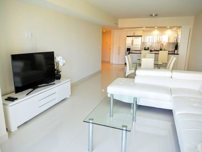 Photo for Bright & Classic 2 BR w/ Balcony on Sunny Isles - Two Bedroom Apartment, Sleeps 4