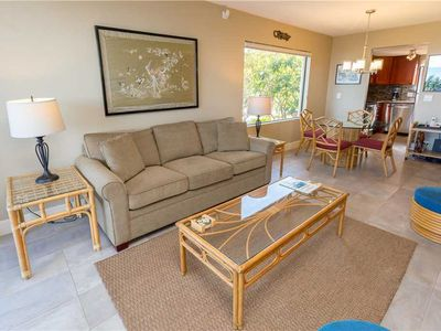 Photo for KB201-2 bedroom 2 bath Ocean Front Condo with Central Air Conditiong