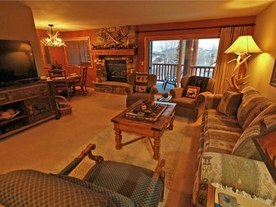 Photo for Snow Flower Condo #26, 2 bedroom 2 bath, sleeps 6, SKI-IN/SKI-OUT to Park City Mountain Resort
