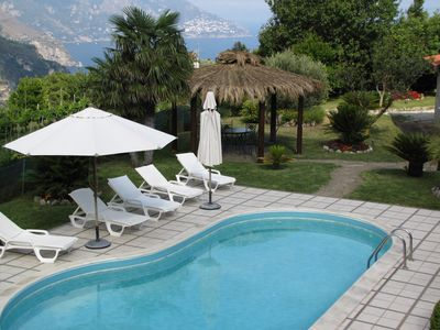Photo for Amazing Villa between Positano and Sorrento with private pool and garden
