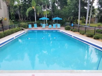 Photo for Condo with 2 pools, WiFi, Tennis/Pickleball Courts, Kayak Storage, Legacy Trail, W/D inside unit