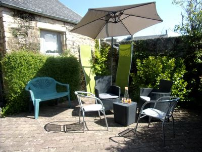 Photo for Cottage near Bayeux, Saint Lô and Landing beaches.  Accommodation por 4