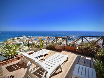 Photo for Casa Rustica 2 with great living room with seaview