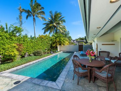 Photo for NEW LISTING! Stunning house w/ private pool -  quiet location close to the beach
