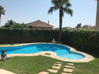 Photo for Big Family Villa by Vilanova i la Geltrú. 2kms from beach. 10 min from Sitges.