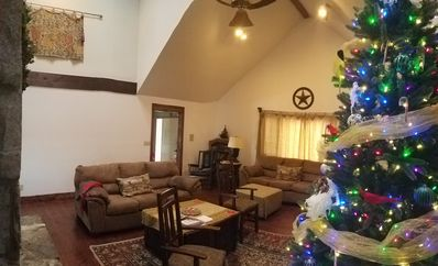Photo for Decorated for Christmas-Nov. 8 thru-Jan. 4-Surround Mountain Views-Hot tub