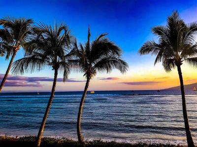 Photo for Stunning Ocean Views of the Pacific & Two Hawaiian Islands!