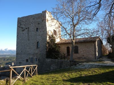Photo for Living in Umbria in the ancient Castle of Morcicchia