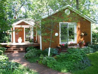 Photo for Quiet Cottage w/Artist Loft, Sauna, on a peaceful, great for kayaking lake!