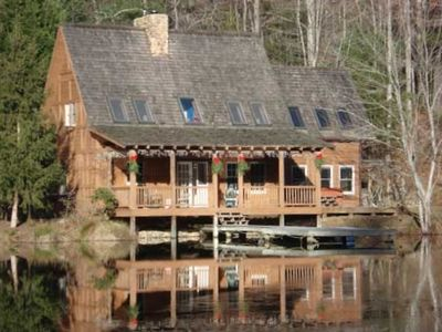Photo for Charming Cottage-Beautiful Views-Private Pond-~NC~ Mountains!