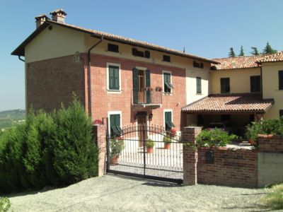 Photo for Beautiful restored character farmhouse in medieval hilltop village in Piedmont