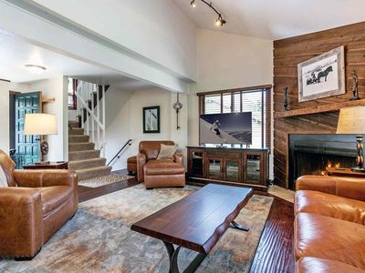 Photo for 5 Min Walk To Bus Stop, Access Vail or Beaver Creek, Eagle Vail Townhome Located on 11th Tee Box!!